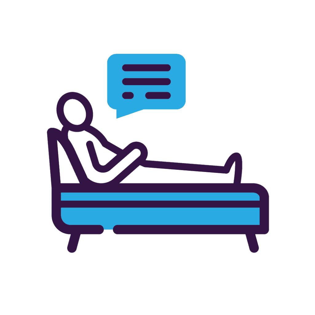 Therapy providers icon.