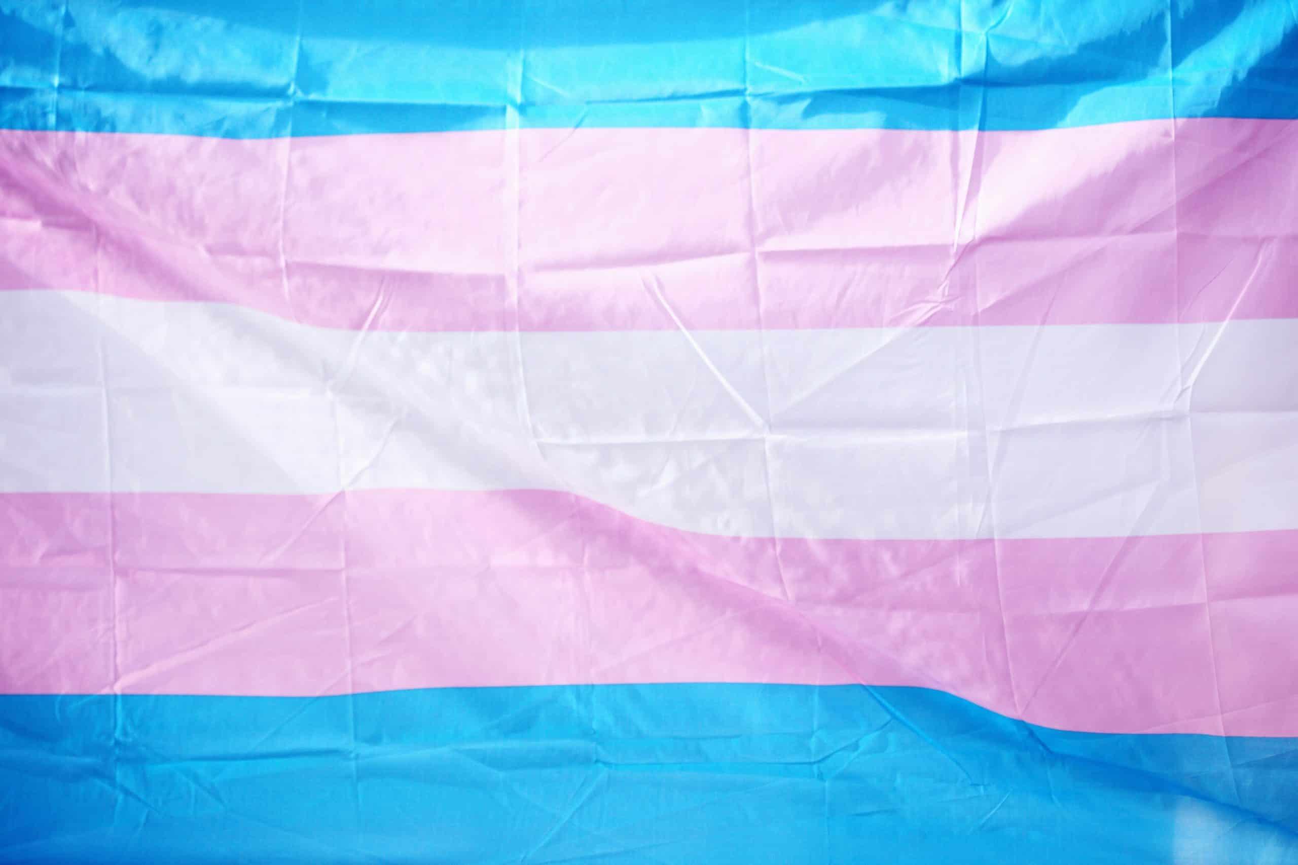 Transgender flag.