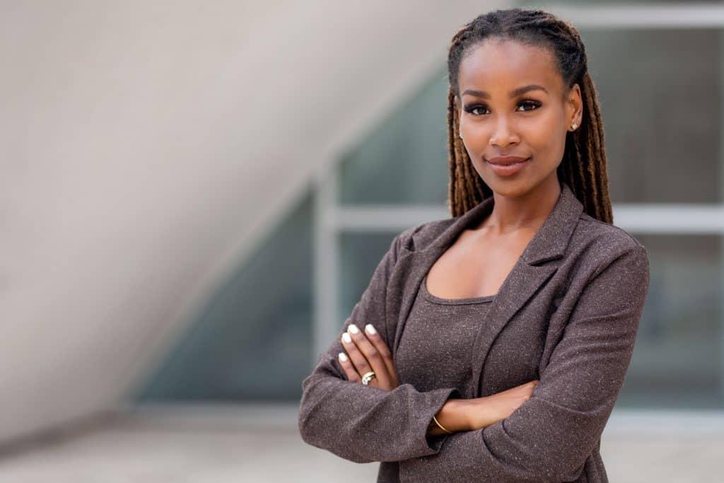 Black female life coach.