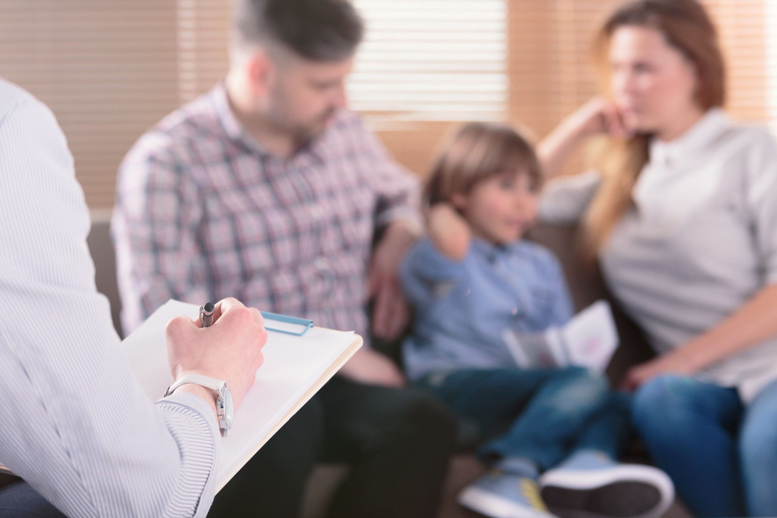 Blended family counseling.